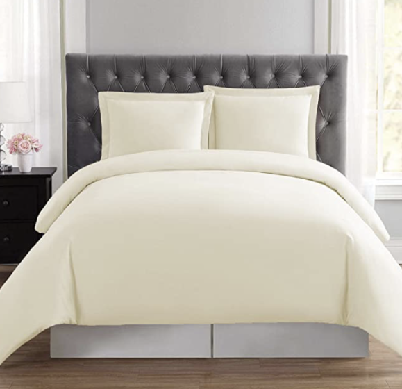 Premium Duvet Cover Sheet 550 TC [GOTS] [Available in Different Colors] - Organic Textiles