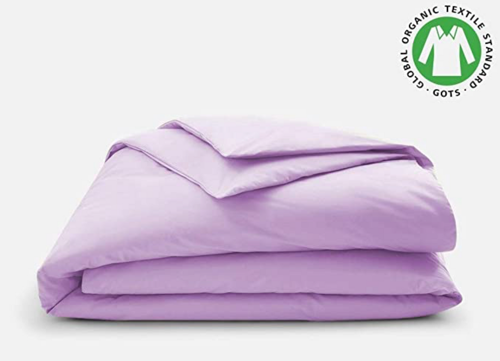 Premium Duvet Cover Sheet 350 TC [GOTS] [Available in Different Colors] - Organic Textiles