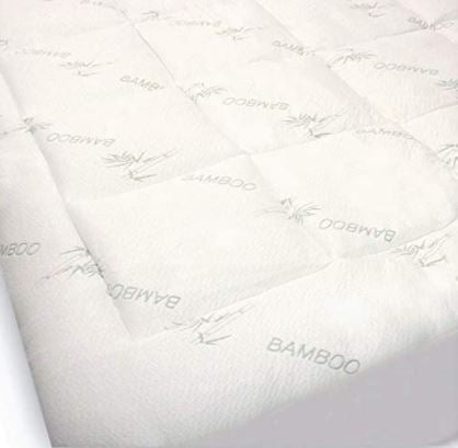 Bamboo Mattress Pad (Different sizes available) - Organic Textiles