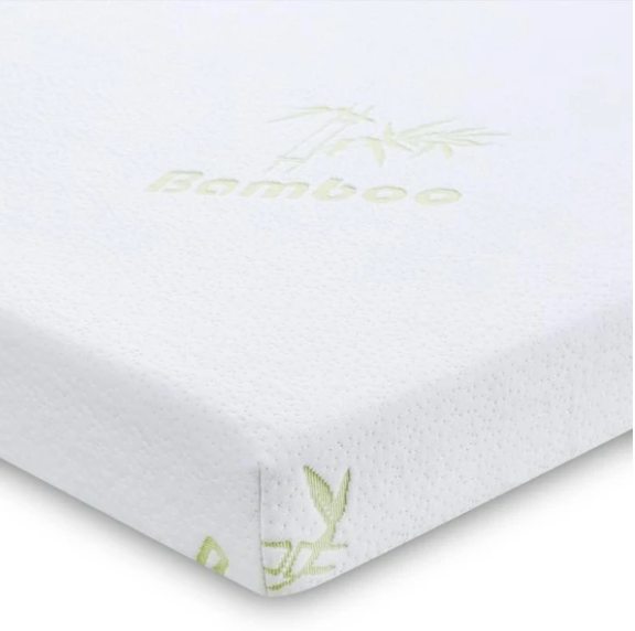 "Organic Latex Mattress Topper 3"" Inch With Bamboo Cover [GOLS Certified] - Organic Textiles"