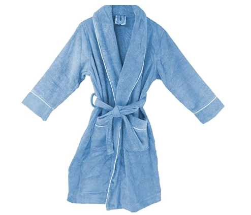 Men's Velour Bathrobe [GOTS Certified] [Available in Different Colors] - Organic Textiles