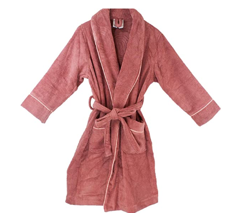 Women's Royal Spa Terry Cloth Bathrobe [GOTS Certified] [Available in Different Colors] - Organic Textiles