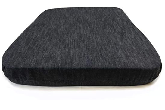 "Organic Latex Seat Cushion with Cover, 2"" Inch & 3"" Inch [Different Options Available] - Organic Textiles"