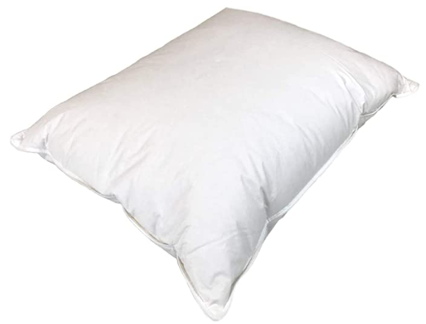 Real Down Pillow with Organic Cotton Cover (Available in Different Sizes) - Organic Textiles