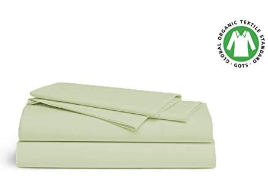 Organic Cotton Bed Sheet Sets 550 TC [GOTS Certified] - Organic Textiles