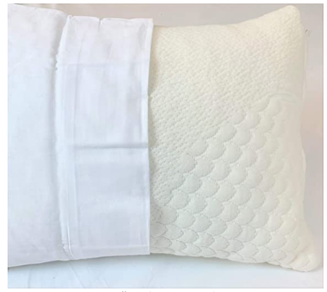 Travel Size Pillow Organic Shredded Latex - Organic Textiles