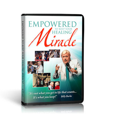 Empowered to Keep Your Healing Miracle (Mp3)