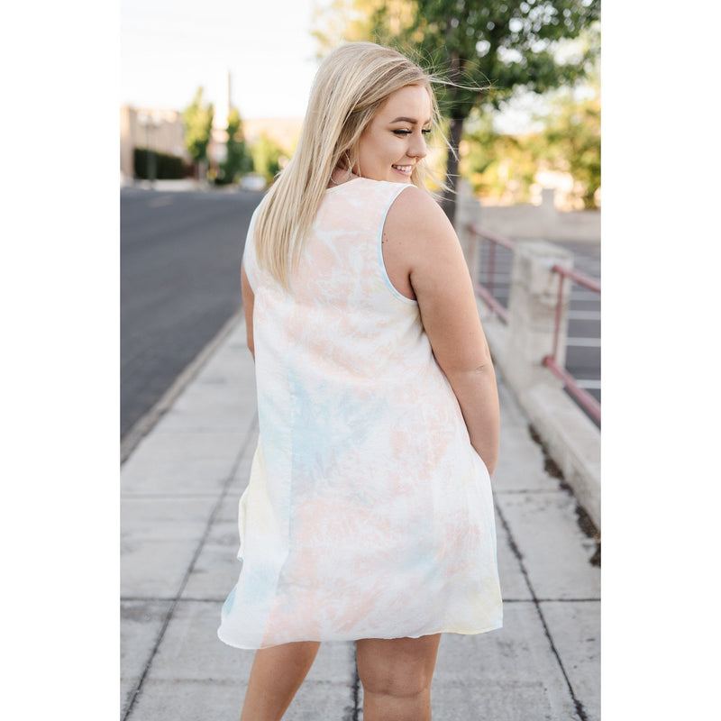 Sherbert Skies Summer Dress