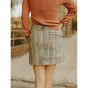 Colorado Concert Plaid Skirt