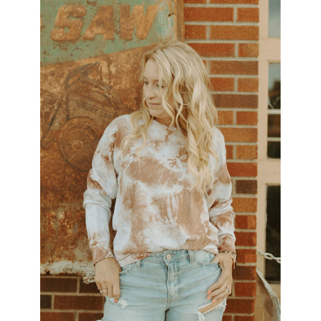 In The Zone Tie Dye Top
