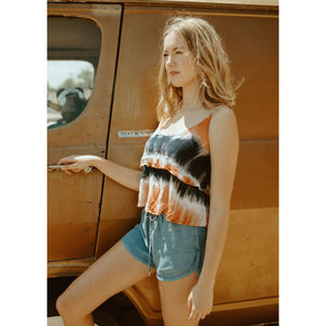 Coast Of Cabo Tie Dye Shift Tank