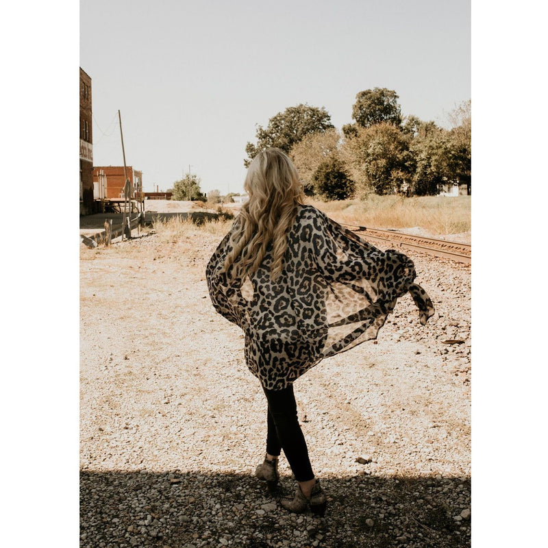 Easy Street Kimono In Navy - Shabby 2 Chic Boutiques