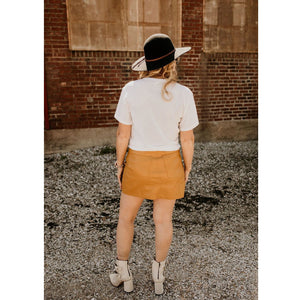 Can't Deal Mustard Skirt - Shabby 2 Chic Boutiques