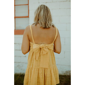 Radiate Dress in Pineapple