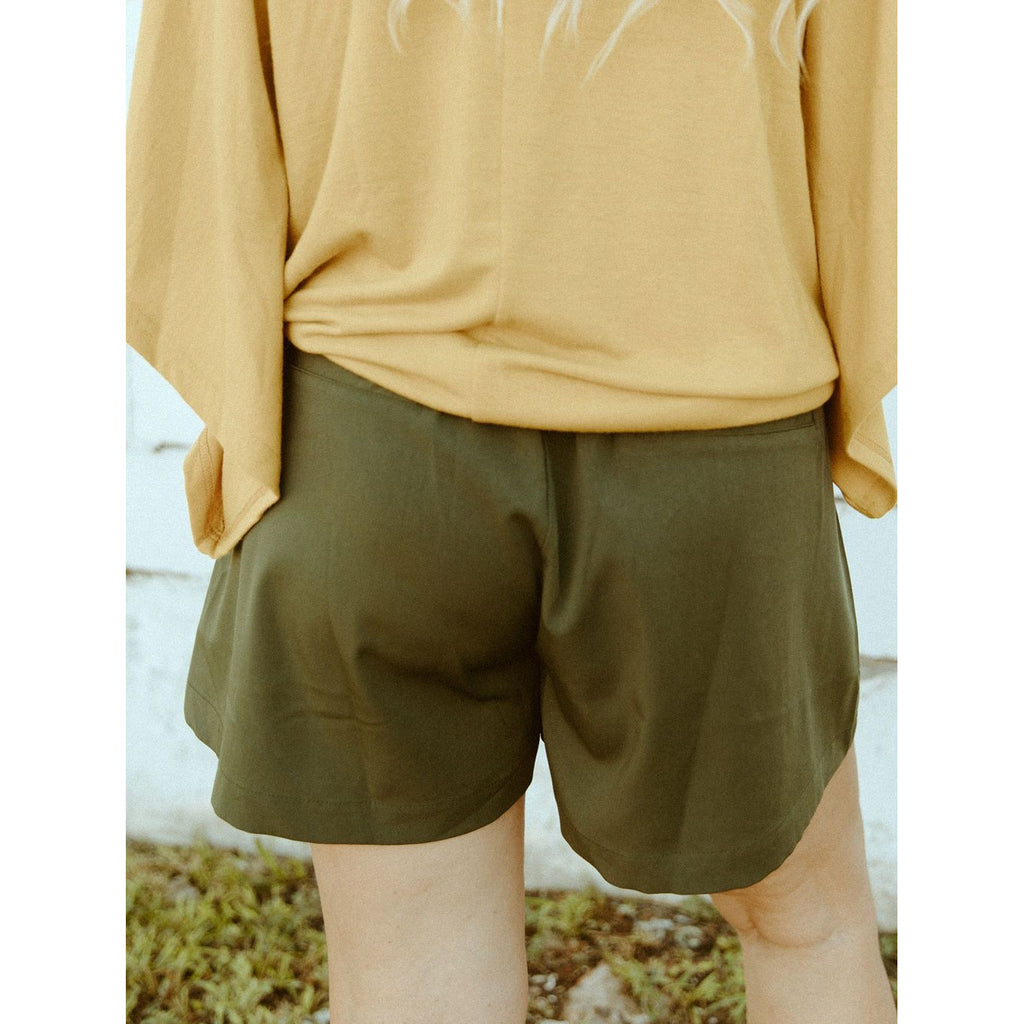 Golden Shores High Waist  Shorts