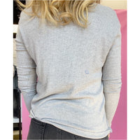 Saturday Social Ribbed Sweater