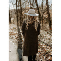 Carefree Days Brown Cardigan - Shabby 2 Chic Boutiques