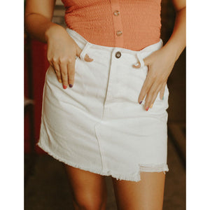 Solana Denim Skirt