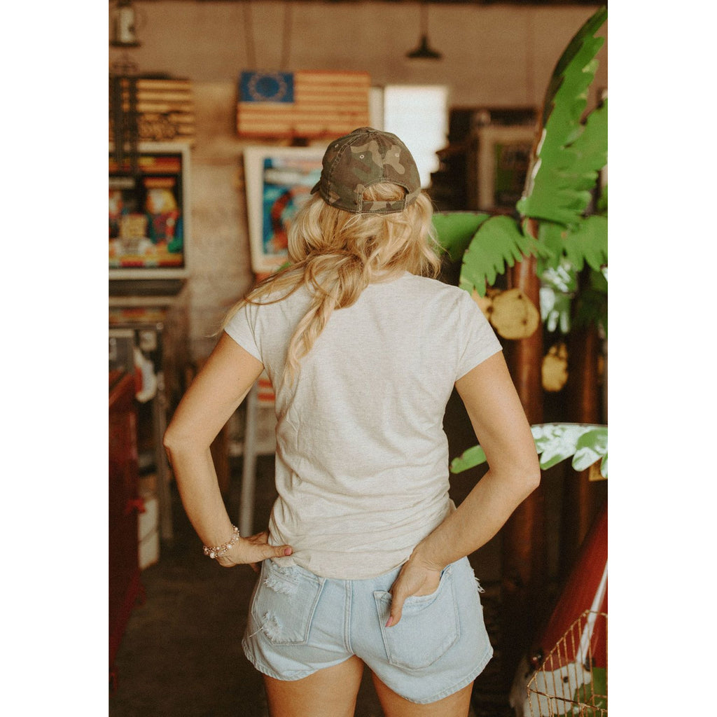 The Soleiel High Waist Distressed Shorts