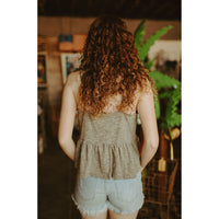 Break Away Knit Babydoll Tank