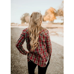 Can You Believe This Plaid Shirt - Shabby 2 Chic Boutiques