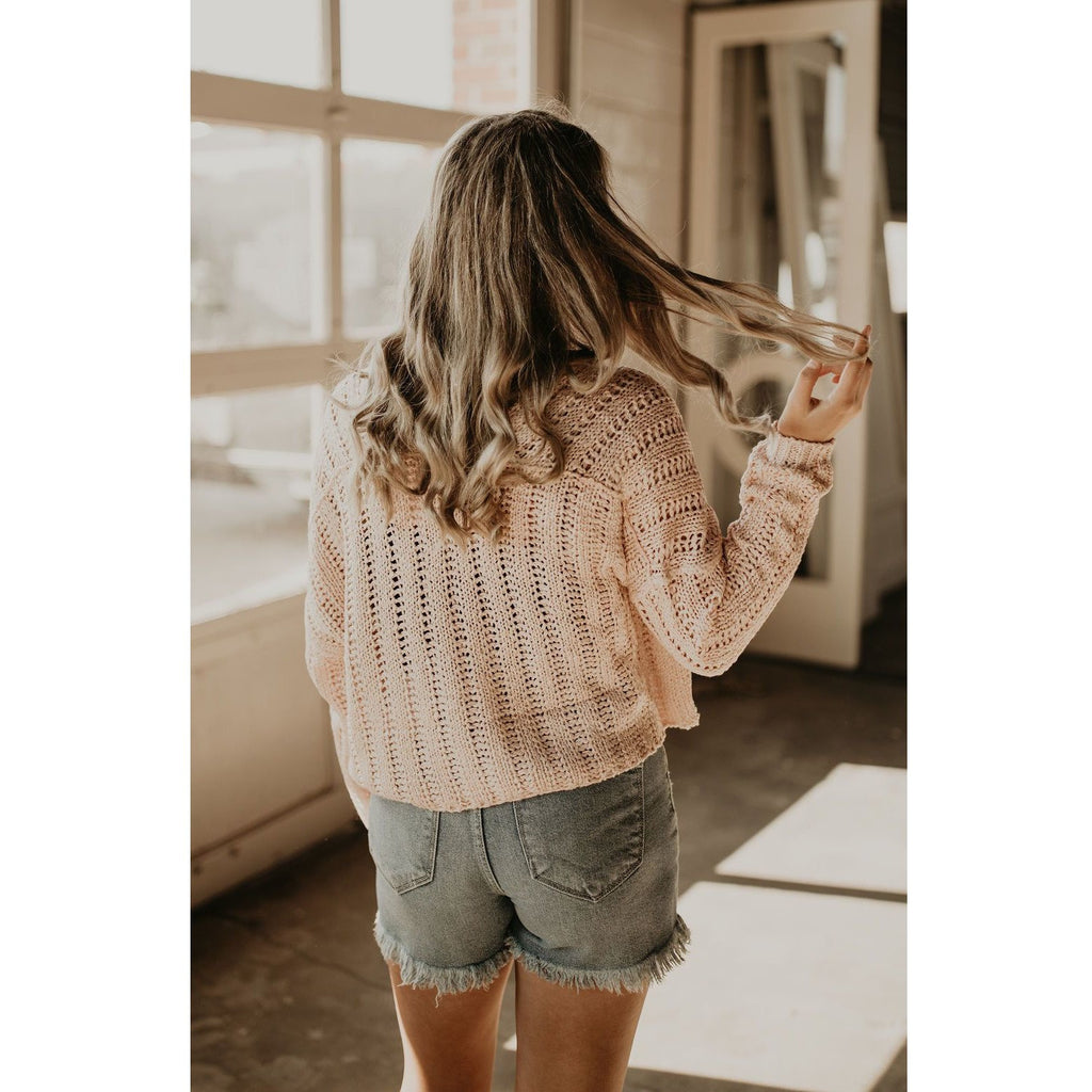 Days Deep V Sweater - Shabby 2 Chic Boutiques
