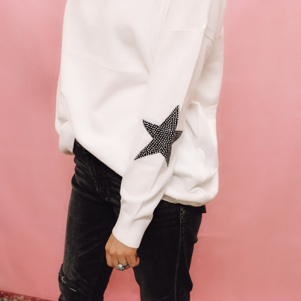 For the Love of Stars Sweater