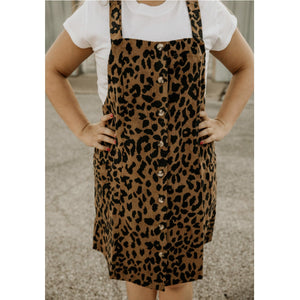 Jump Into Style Leopard Print Jumper - Shabby 2 Chic Boutiques