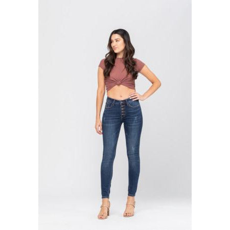 The Scarlet High Waist Relaxed Skinny