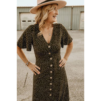 Starting Now Olive Dress - Shabby 2 Chic Boutiques