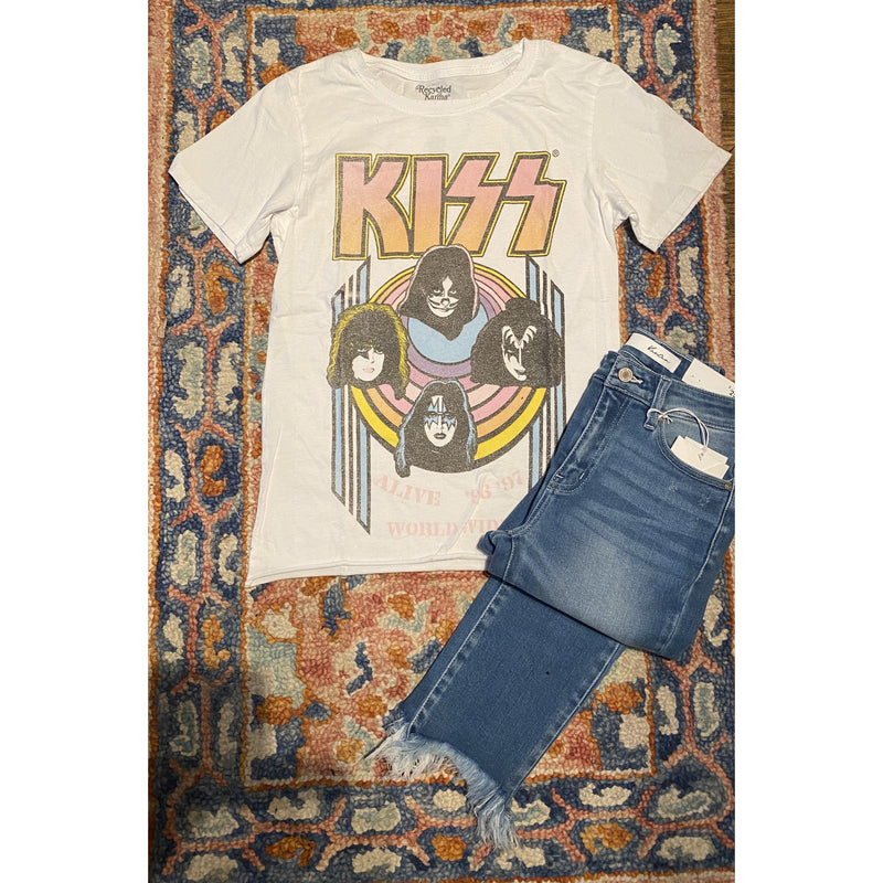 Kiss World Wide Graphic Tee