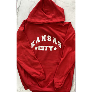 Kansas City Hoodie with Varsity Star
