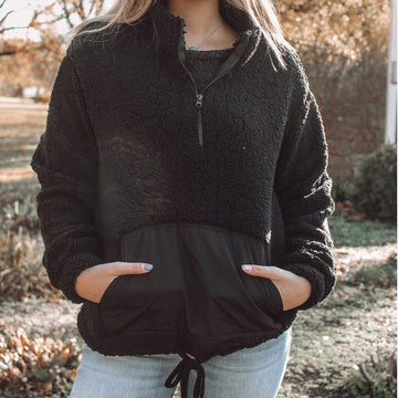 Decadent Days Sherpa Pullover