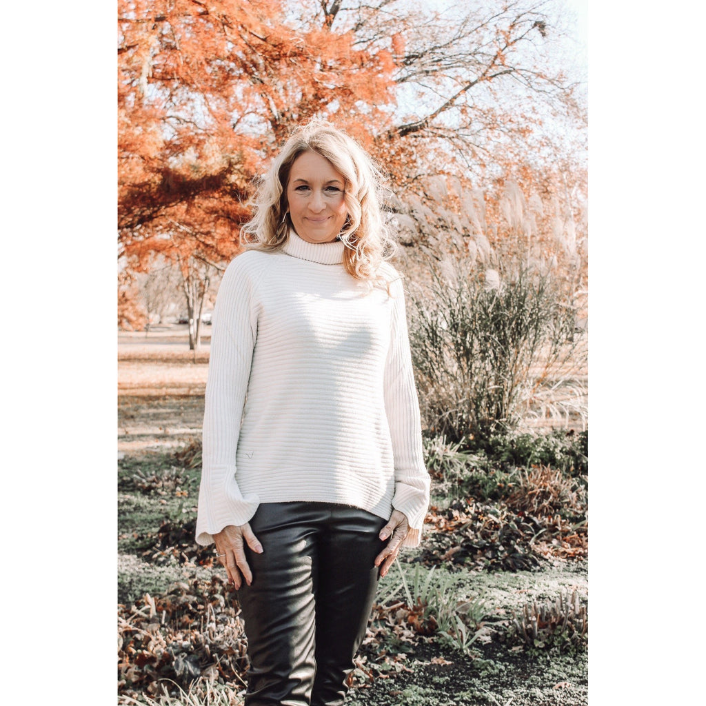 Effortless In Estes Park Shift Sweater