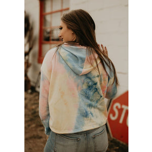 Peace Of Mind Tie Dye  Hoodie - Shabby 2 Chic Boutiques