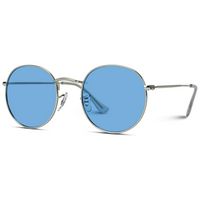 Tinted Lenses Metal Frame Sunglasses