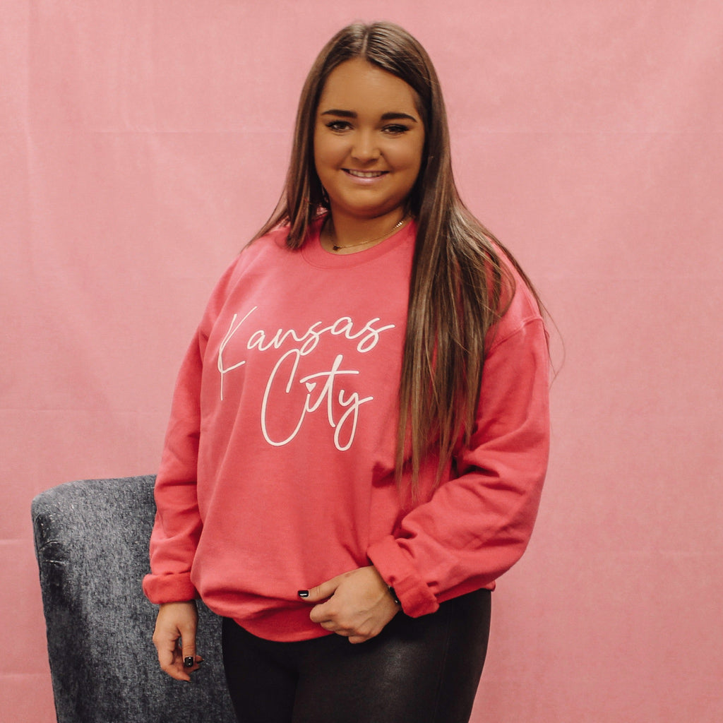 Kansas City Cursive Sweatshirt
