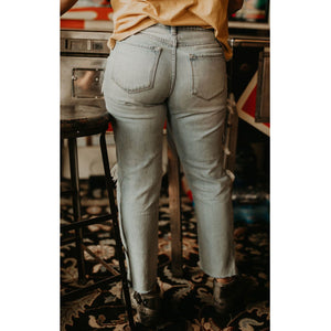 Taylor High Rise Boyfriend Jeans - Shabby 2 Chic Boutiques
