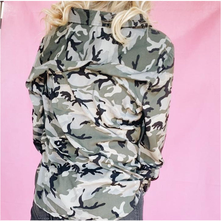 Just Chill Camo Blouse