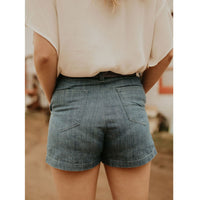 Denim Dress Shorts - Shabby 2 Chic Boutiques