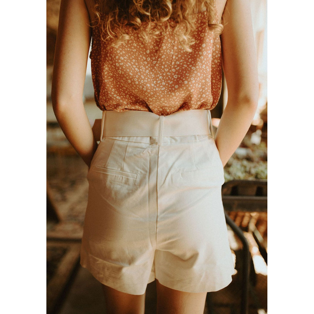 The Jackie High Waist Shorts