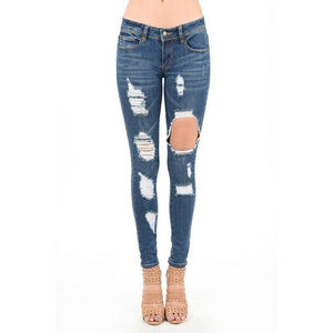 Hammer Distressed Jeans - Shabby 2 Chic Boutiques
