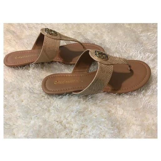 Quota Beige Snake Print Sandals - Shabby 2 Chic Boutiques
