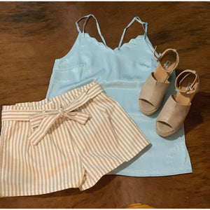 It's Just Simple Blue Cami - Shabby 2 Chic Boutiques
