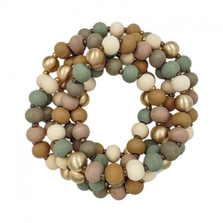 Sipping Vino Bracelet Set In Warm Taupe - Shabby 2 Chic Boutiques