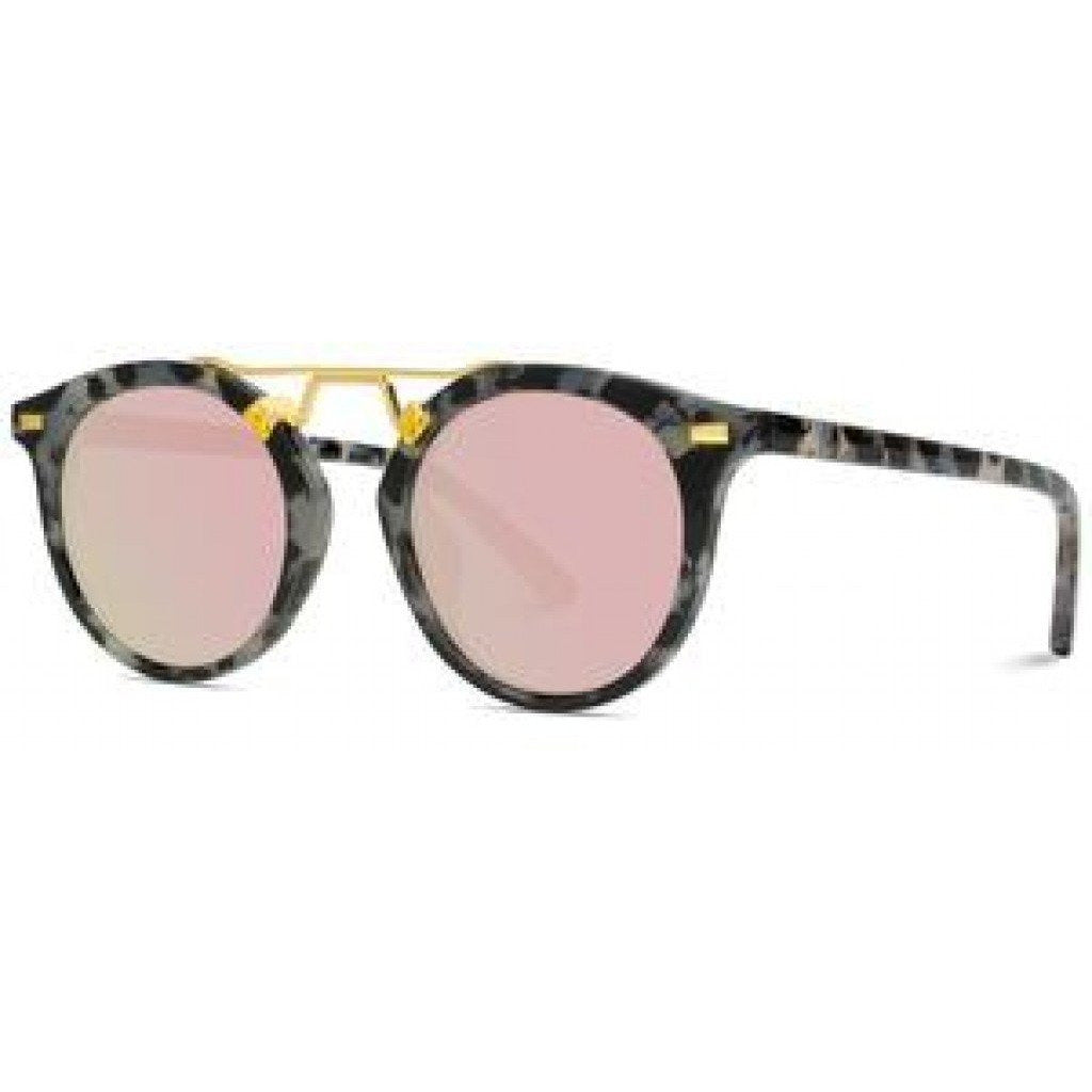 Round Metal Bridge Sunglasses - Shabby 2 Chic Boutiques