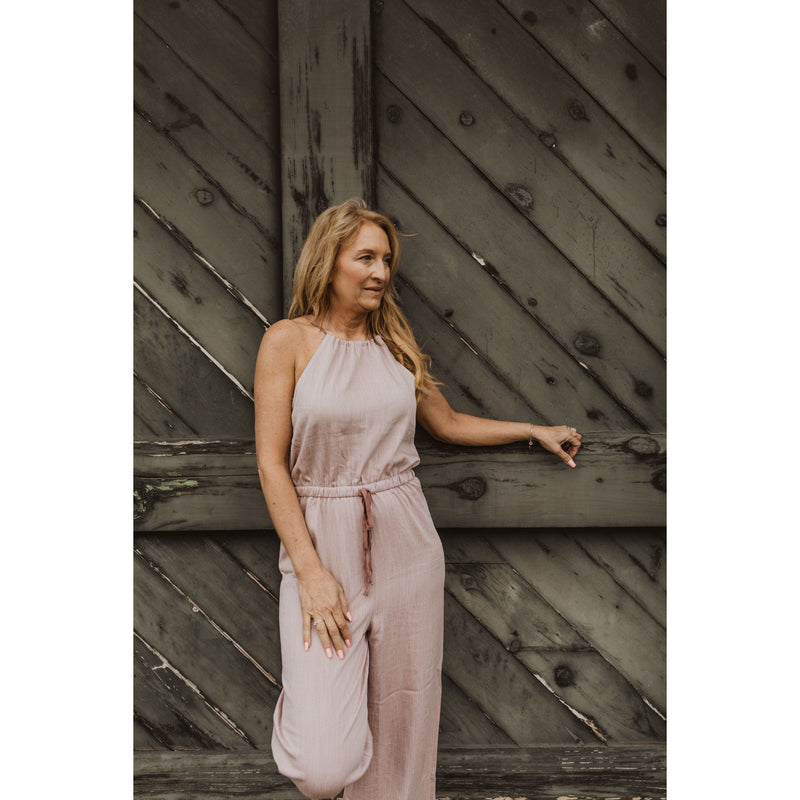 Jump Into Things Lavender Jumpsuit - Shabby 2 Chic Boutiques