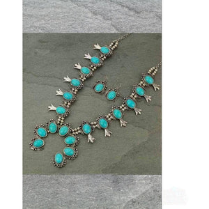 Navajo Squash Blossom Necklace Set - Shabby 2 Chic Boutiques