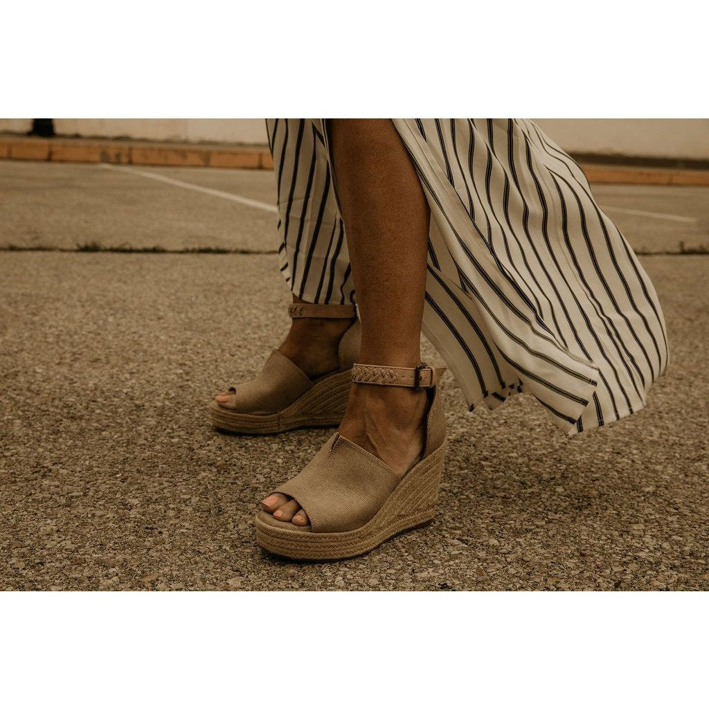 Not Rated Leif Wedge Sandal - Shabby 2 Chic Boutiques