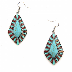Treasure Tear Drop Earrings